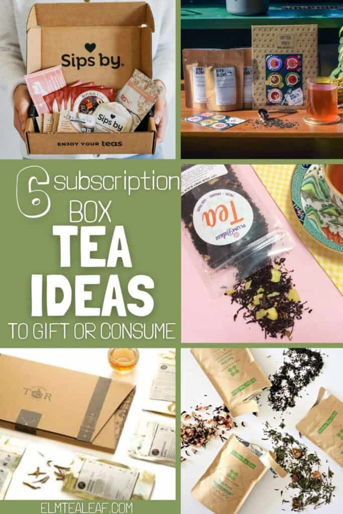 6 Different Subscription Boxes to choose from